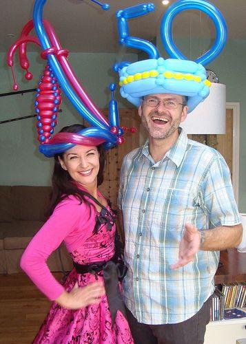 Sur Pinterest Balloon Hats
