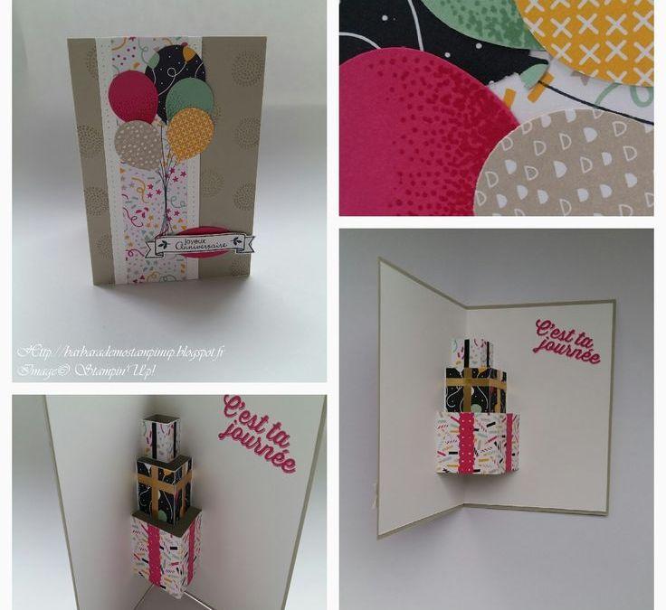 Sur Pinterest Le Scrap de Barbara Démonstratrice Stampin'Up: Carte