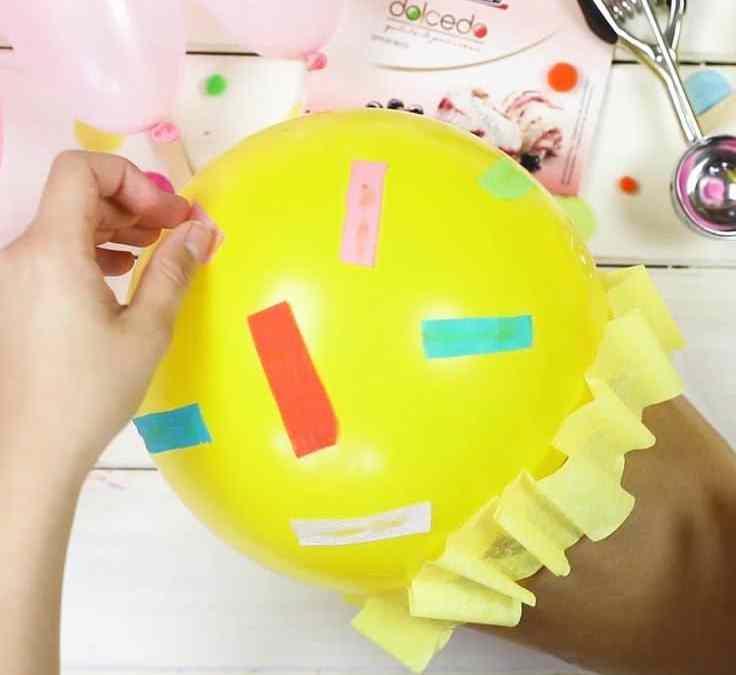 Sur Pinterest Eis-Luftballons für Eisparty