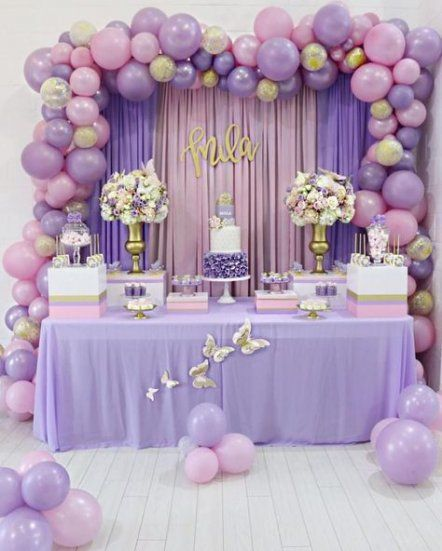 Sur Pinterest Super baby shower ides for girs butterflies sweets ideas