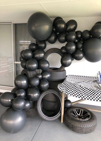 Sur Pinterest Cars birthday party decorations balloons 16 ideas for 2019