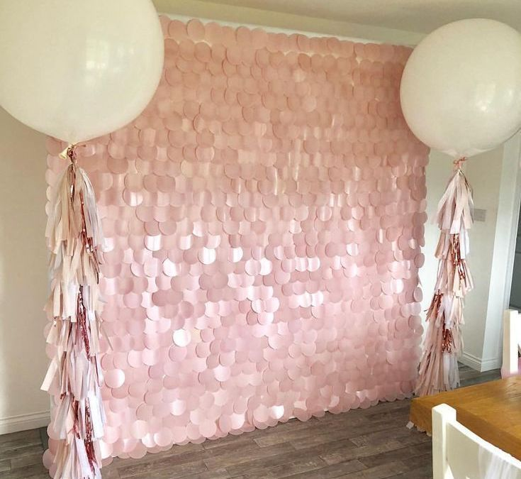 Sur Pinterest ⓟⓡⓞⓟ ⓜⓔ ⓟⓡⓔⓣⓣⓨ ➸ Blush Pink Sequin Wall & Balloon Package  All set