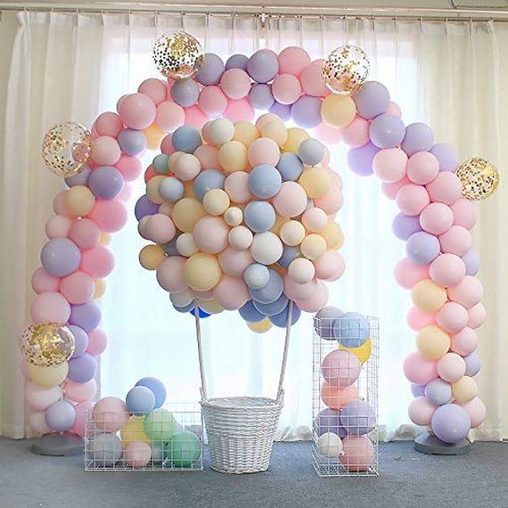 Sur Pinterest Latex Balloons Pack Birthday Party Supplies Party Balloons Set
