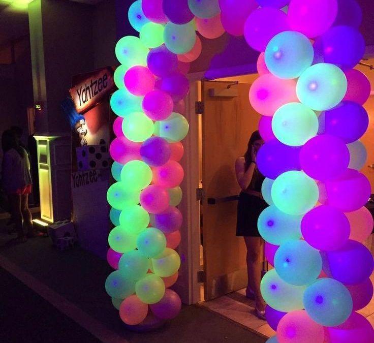 Sur Pinterest Image result for glow party balloon decor #Balloon #Decor #decoration