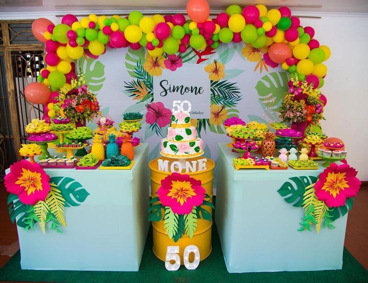 Sur Pinterest Festa Tropical: 110 ideias e tutoriais cheios de alegria e cores