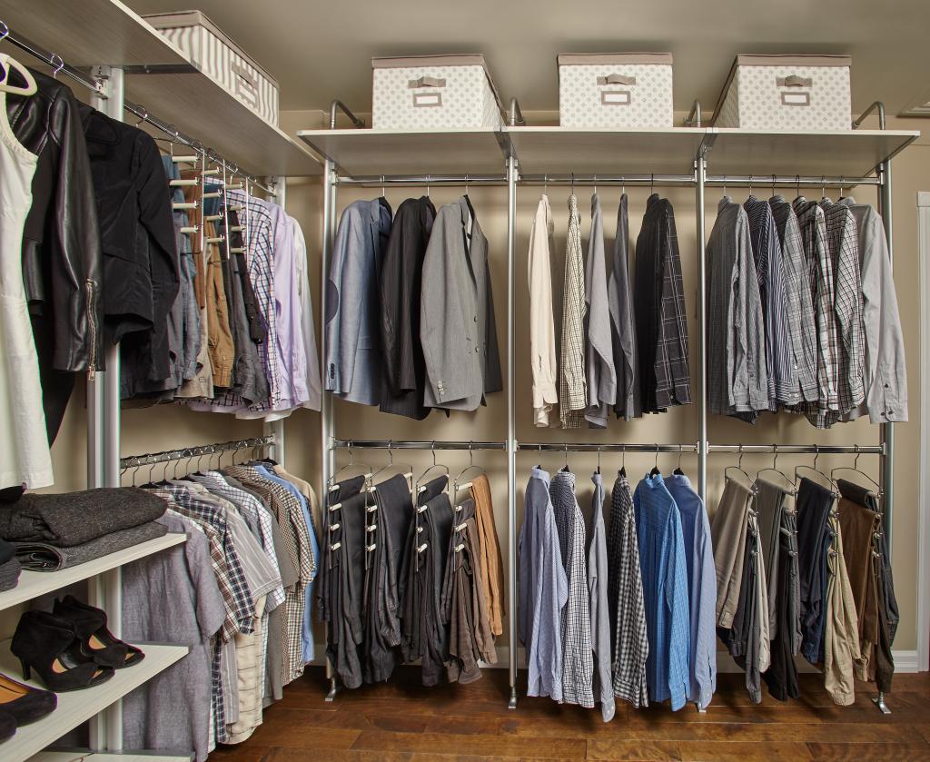 Rangement Pour Garderobe Walkin  Accroo Rangement