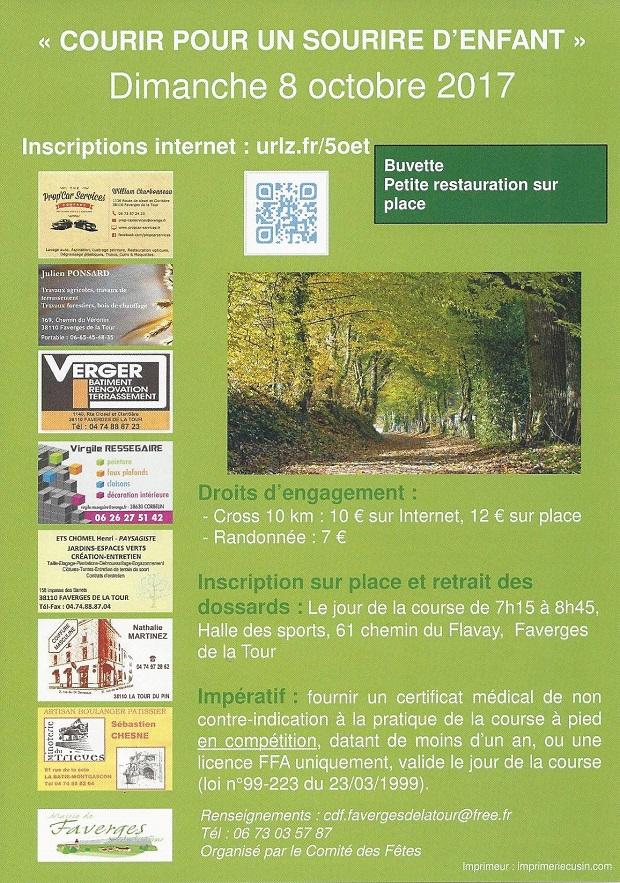 Course à pied, courir à l'automne avec accrorunning.com