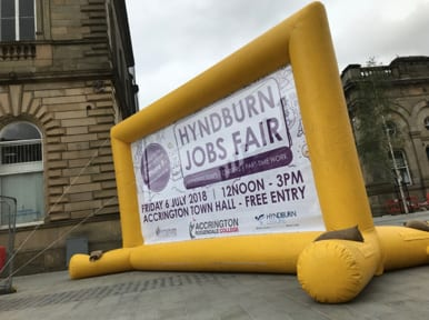 job fair with accrington & Hyndburn