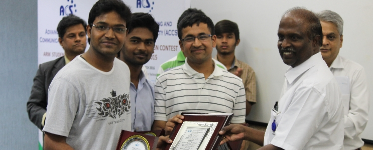 ACCS ARM Student Design Contest 2015 runner-up
