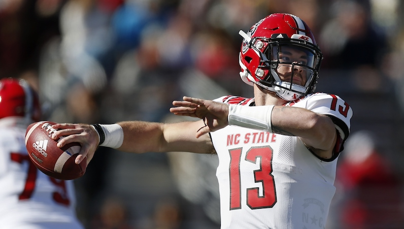 NC State names Devin Leary as its starting QB vs. Wake Forest -  ACCSports.com