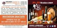 Invitation Salon du Vin 2019