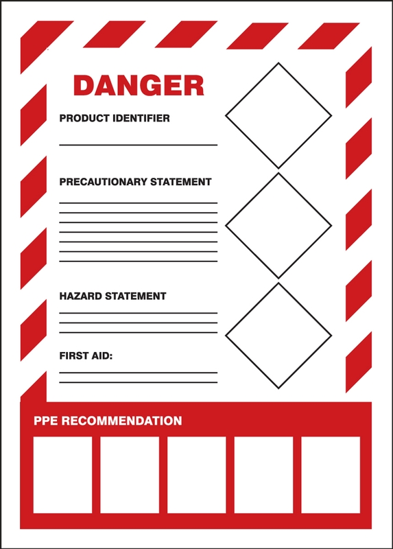 Osha Secondary Container Label Template : secondary, container, label, template, Secondary, Label, Requirements, Labels, Ideas