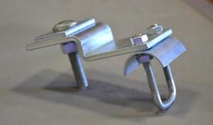 overhead crane workstation parts festoon clamp
