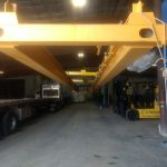 factory double beam header assembly lifting crane
