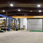 large bay crane for product assembly