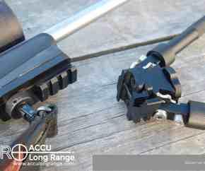 ACCU Long Range Bipod Sling Stud Picatinny style rail adapter 02b