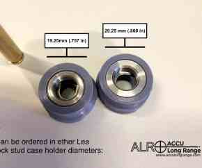 case stabiliser for the Lee trimmer cutter and lock stud