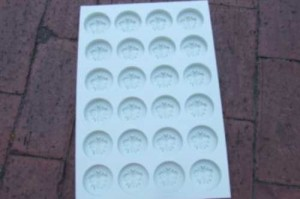 Custom Silicone Mold 24 items simultaneously for production