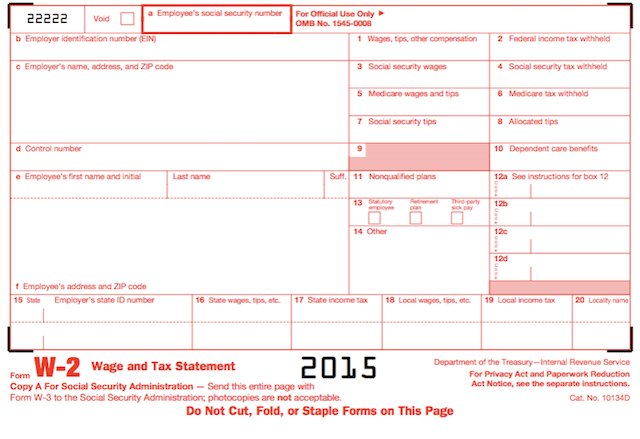 Completing Form W-2 and the meaning for box 12 Codes
