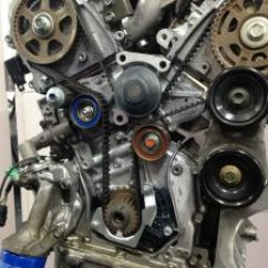 2002 Ford Taurus Cooling System Diagram Hpm Double Light Switch Wiring Honda V6 Engine Oil Leak Around The Timing Belt Area - Accurate Automotiveaccurate Automotive