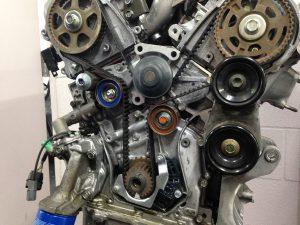 Honda V6 Engine Oil Leak Around the Timing Belt Area  Accurate AutomotiveAccurate Automotive