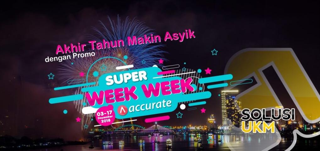 Akhir Tahun Makin Asyik dengan Promo Super Week-Week Buat Bisnis Kamu