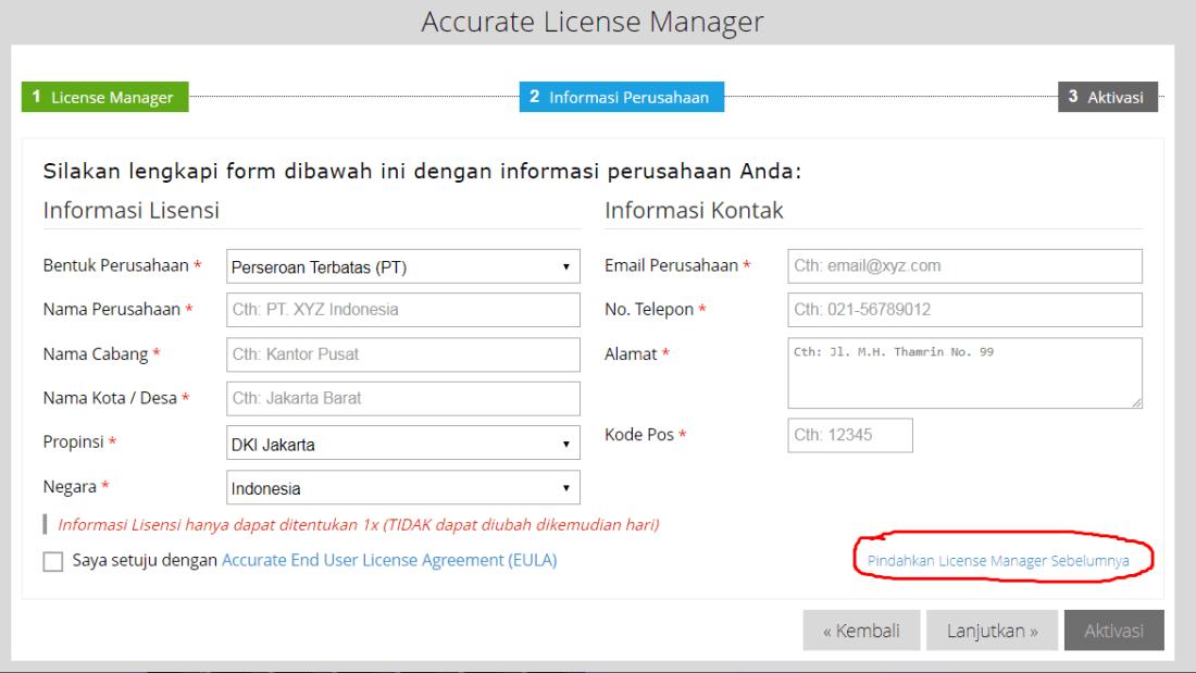 lseince manager tidak running 3