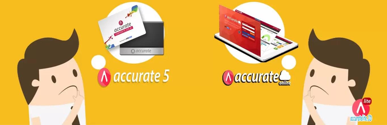 perbedaan accurate 5 desktop dan accurate online ALT