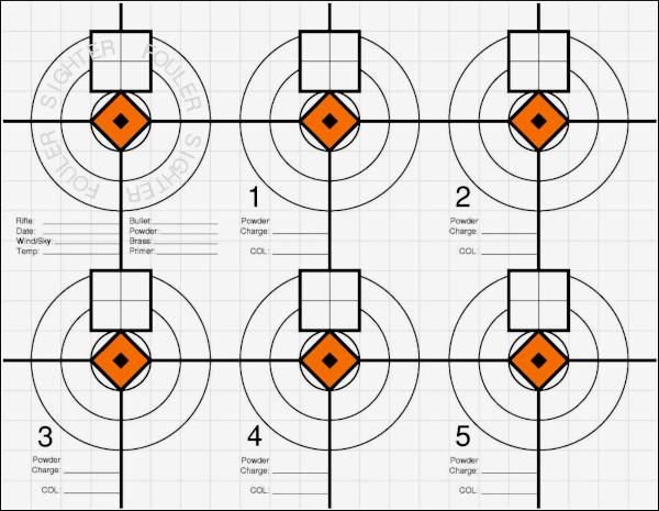 Five FREE Printable Precision Shooting Targets « Daily