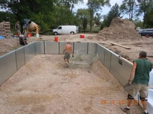 Inground Swimming Pool Construction 27 Accurate Spa and Pool