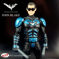 What if...John Blake/Nightwing 2.0 Dark knight Rises