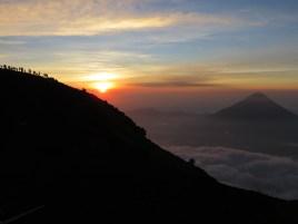 Liz Williams: Acatenango at dawn