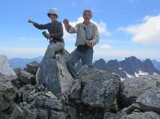 Dave Suttill - Paddling Canoe Peak