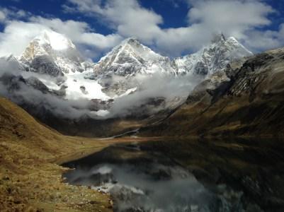 Winner - Mountain Scenery Category: Alcina DeOliveira - Huayhuash reflections