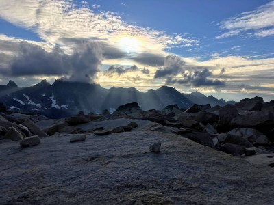 Honourable Mention - MS Category: Brianna Coates - Sunset on Slesse Peak