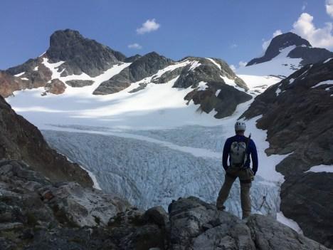 Barry Hansen - Lower Cliff glacier