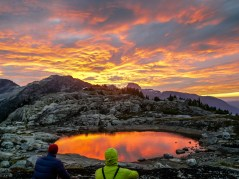 Honourable Mention - Summer Activity: Karthikeya Nadendla - Twilight colours near Mt. Harmston