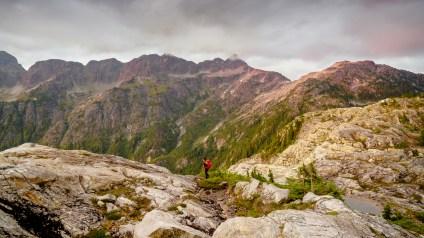 Karthikeya Nadendla - Hiking on Flower Ridge Trail