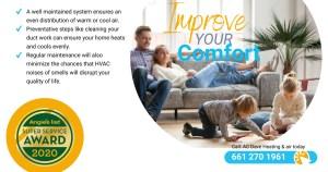 Improve your comfort