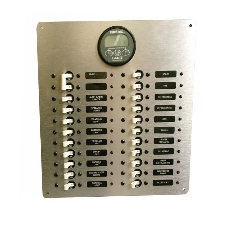 vdo marine gauges wiring diagrams 3 phase transformer phasor diagram dc circuit breaker panel with linklite battery monitor – ac inc.