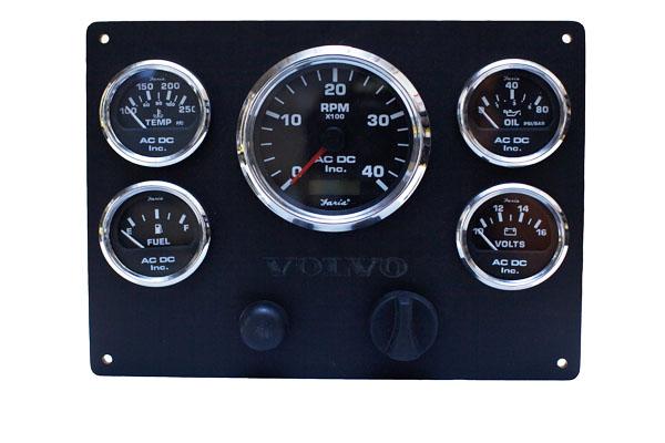 boat battery wiring diagrams diagram of motor control volvo penta engine instrument panel