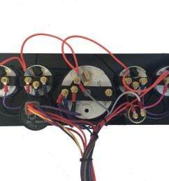 yanmar marine instrument panel programmable or non programmable tachometer ac dc marine inc  [ 1024 x 768 Pixel ]