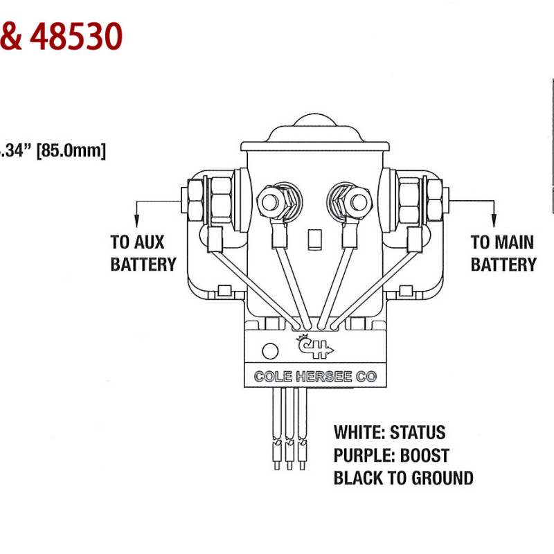 Cole Hersee 24059 Wiring Diagram : 32 Wiring Diagram