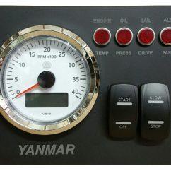 Boat Wiring Diagrams 02 Jeep Wrangler Diagram Yanmar Engine Panel - Ac Dc Marine Inc.