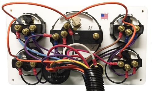 small resolution of yanmar engine marine instrument panel pre wired usa made package oil pressure sending unit in addition thermocouple wiring marine