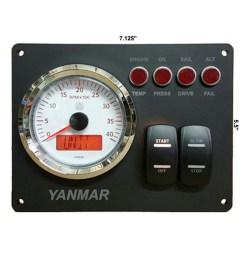 rpm gauge w magnetic pickup rpm gauge w alternator pickup rpm gauge [ 1000 x 1000 Pixel ]