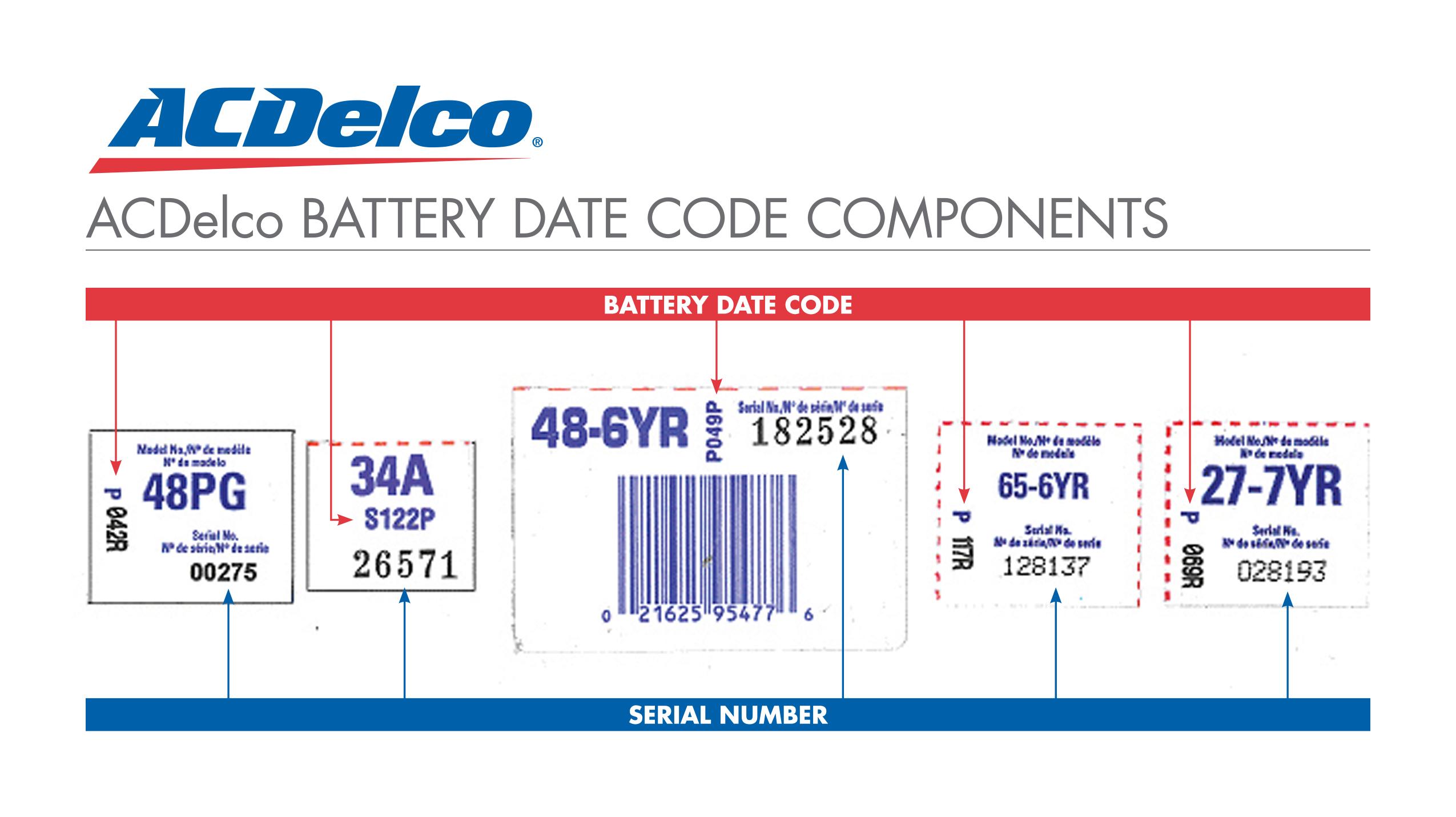 Ac Delco Battery Warranty >> Ac Delco Battery Warranty Code Reading