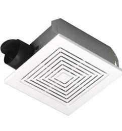 broan ceiling wall mount fan w white plastic grille 50 cfm 688 [ 900 x 900 Pixel ]