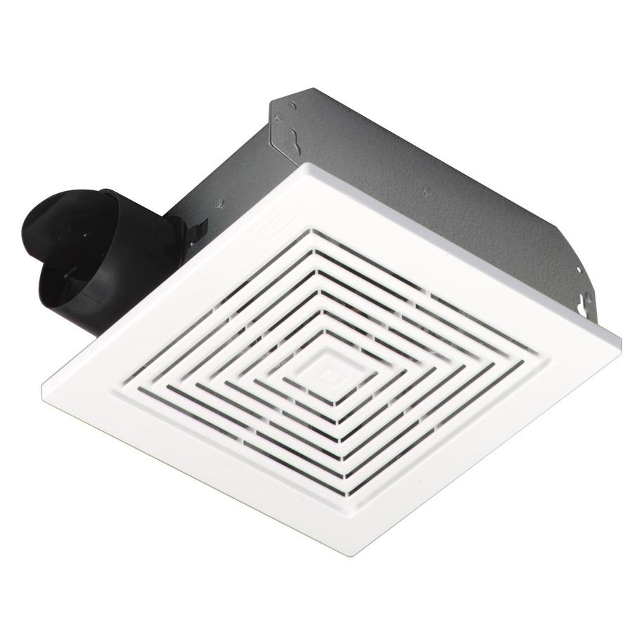 medium resolution of broan ceiling wall mount fan w white plastic grille 50 cfm 688