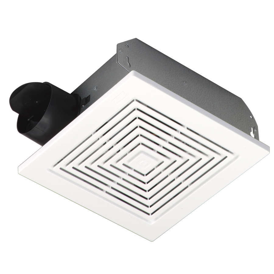 hight resolution of broan ceiling wall mount fan w white plastic grille 50 cfm 688